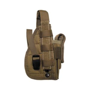 """HOLSTER, """"MOLLE"""", TAN"""