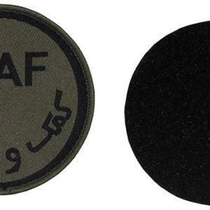 "insigne velcro, ""ISAF"", kaki"
