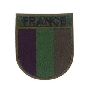 Ecusson de bras France basse vision