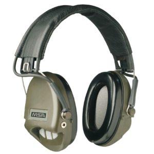 Casque anti-bruit MSA suprême Basic vert OD coussinets mousse