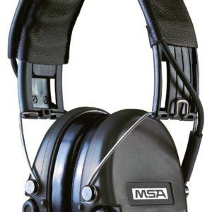 Casque anti-bruit MSA Suprême Pro serre-tête noir coussinets mousse