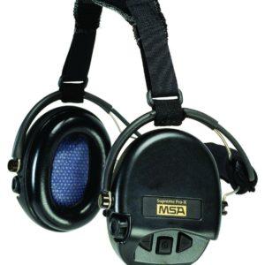 Casque anti-bruit MSA Suprême Pro serre-nuque noir coussinets mousse
