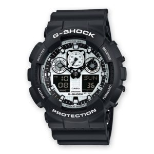 Montre CASIO G-SHOCK GA-100BW-1AER