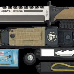 Couteau THUNDER I. Camo sable K 25