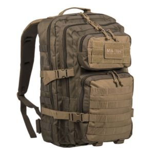 MIL-TEC MOLLE US ASSAULT PACK GRAND kaki et sable