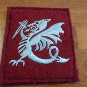 PATCH BRODE CHIMERE/LAPIN AGILE/LAPIN A GILLES 1ER RPIMa /FORCES SPECIALES