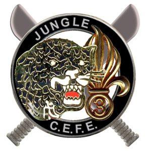 BREVET COMMANDO CEFE-JUNGLE-LEGION 3ème REI