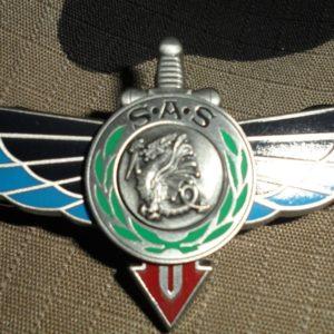 COS-FS-FORCES SPECIALES-SAS-BREVET 1er RPIMa RAPAS ARGENT