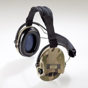 Casque anti-bruit Suprême Pro-X serre-nuque multicam coussinets mousse