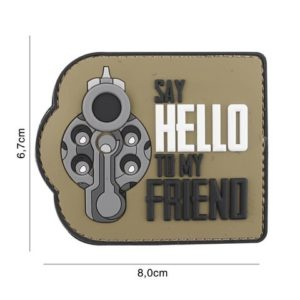 PATCH 3D PVC : SAY HELLO TO MY FRIEND, COYOTE