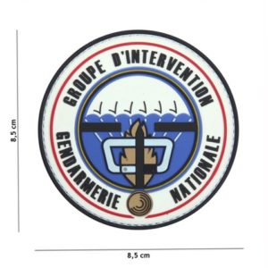 PATCH 3D PVC GROUPE D'INTERVENTION