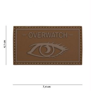 PATCH 3D PVC OVERWATCH COYOTE