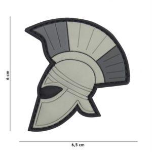 PATCH 3D PVC ROMAN GRIS