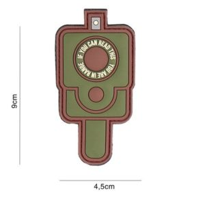 PATCH 3D PVC : IN RANGE , MULTI CAMO
