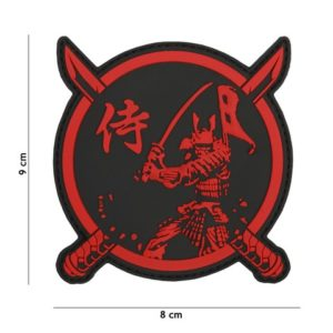 PATCH 3D PVC : SAMURAI , GUERRIER