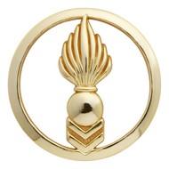 Insigne de béret doré Cadre Spécial