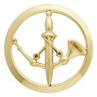 Insigne de béret doré Poste aux Armées