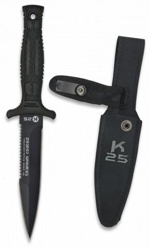 Couteau K25 BOTERO. Étui. Lame: 12.5 cm
