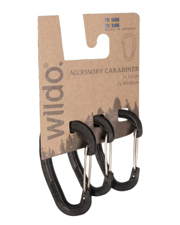 Set mousquetons wildo Noir