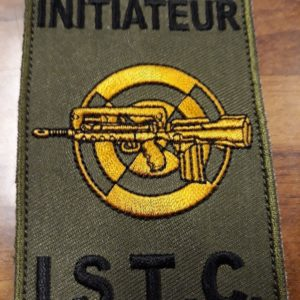 PATCH BREVET INITIATEUR ISTC FORMAT FELIN