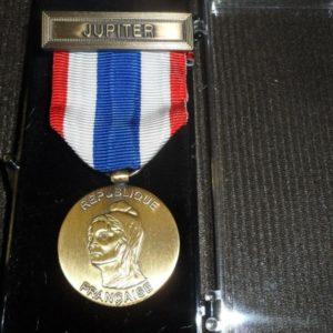 MPMT MÉDAILLE de la PROTECTION MILITAIRE DU TERRITOIRE avec agrafe JUPITER
