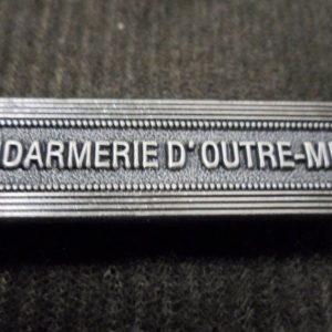 Agrafe pour médaille Ordonnance GENDARMERIE D OUTRE MER
