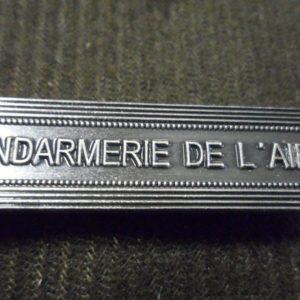 Agrafe pour médaille Ordonnance GENDARMERIE DE L AIR