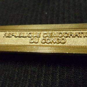 Agrafe pour médaille Ordonnance REPUBLIQUE DEMOCRATIQUE DU CONGO