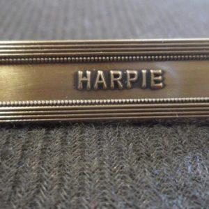 Agrafe HARPIE sur la médaille de la protection militaire du territoire MPMT