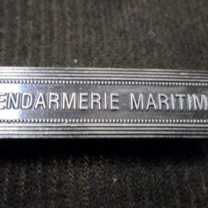 Agrafe pour médaille Ordonnance GENDARMERIE MARITIME
