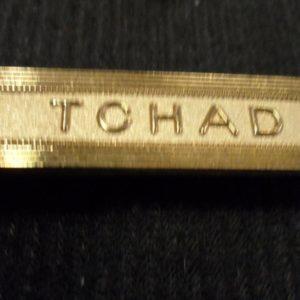 Agrafe pour médaille Ordonnance TCHAD