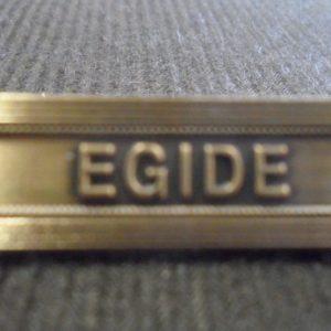 Agrafe EGIDE sur la médaille de la protection militaire du territoire MPMT