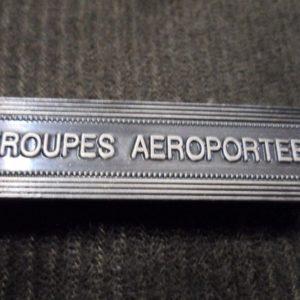 Agrafe pour médaille Ordonnance TROUPES AEROPORTEES