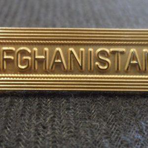 Agrafe AFGHANISTAN pour médaille commémorative Francaise Ordonnance