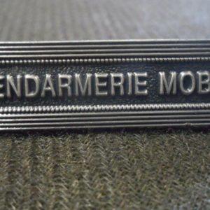 Agrafe pour médaille Ordonnance GENDARMERIE MOBILE