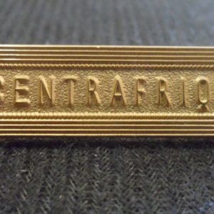 Agrafe CENTRAFRIQUE pour médaille Outre-Mer Ordonnance