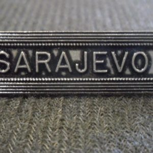 Agrafe pour médaille Ordonnance SARAJEVO