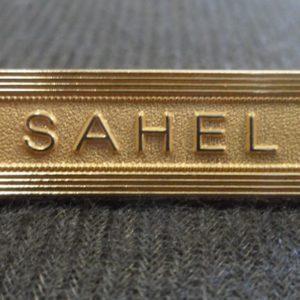 Agrafe SAHEL pour médaille Outre-Mer Ordonnance