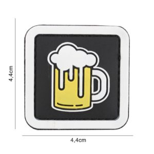 PATCH 3D PVC : BEER