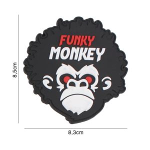 PATCH 3D PVC : FUNKY MONKEY