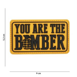 PATCH 3D PVC : YOU ARE THE BOMBER