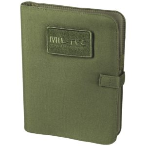GRAND CARNET DE NOTES TACTIQUE MILTEC, OLIVE MOYENNE