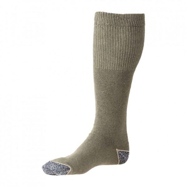 Mi-bas de combat coton kaki