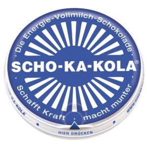 Scho-Ka-Kola, le lait entier, 100 g
