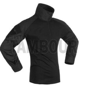 Chemise de combat type ubas / noir FORAD