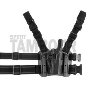 blackhawk Pack plaque de cuisse + holster Glock 17/19/22/23/31/32